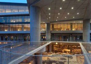 Acropolis museum from outside