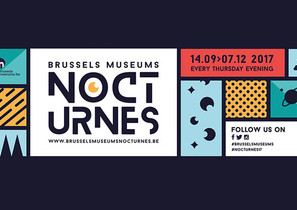 Poster for House of European History Brussel Nocturne
