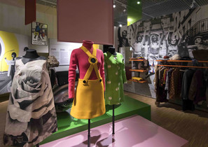 60s clothes from Restless Youth exhibition