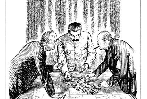 Besatzungszonen karikatur Kultur