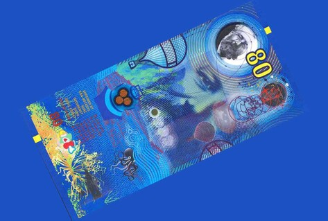 The 'un-fakeable' banknote by Roger Pfund
