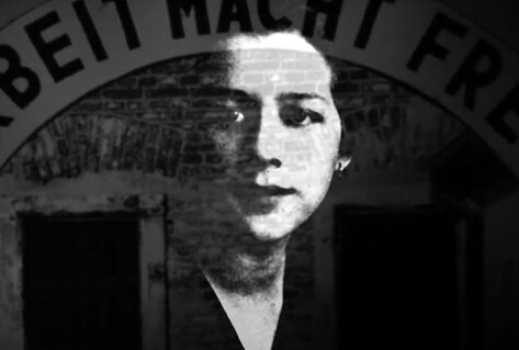 Milada Horáková black and white image