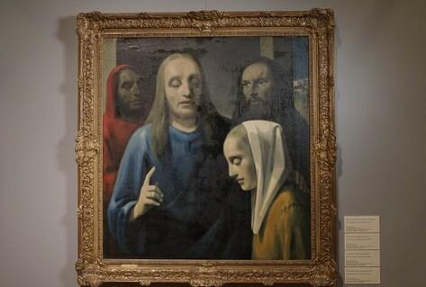 Han van Meegeren - fake Vermeer painting