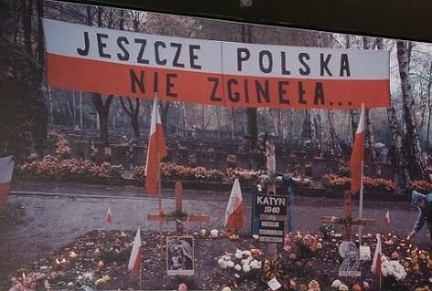 Katyn massacre protest