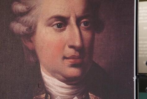 Painting of Johann Friedrich Struensee