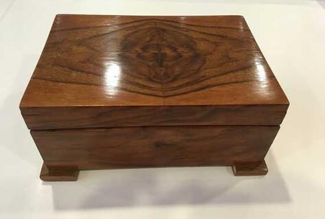 Wooden handmade music box