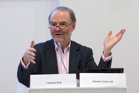 Timothy Garton Ash lecture on future of Europe