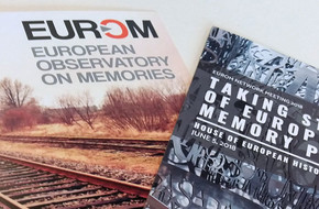 Flyers from EUROM Network meeting 2018 at House of European History