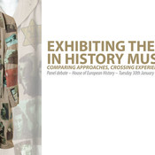 Poster for Exhibiting the Shoah in history museums event - Josef's Coat