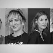 Author headshots black & white