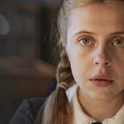 Girl in soviet union school