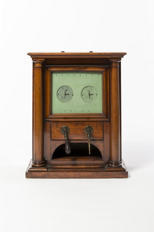 Image Early telegraph machine wood 1844