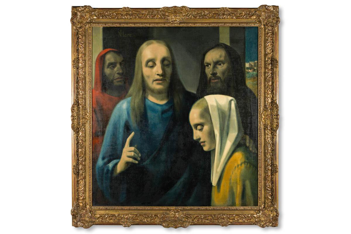 Han van Meegeren, Christ and the Woman taken in Adultery