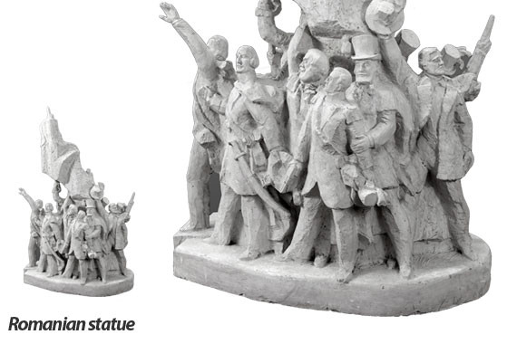 Romanian statue
