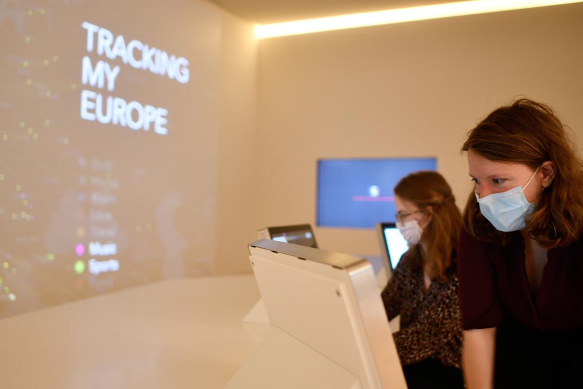 Tracking my Europe